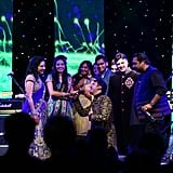 At the end of the night, Bollywood composers Shankar–Ehsaan–Loy sang their greatest hits and even got the groom to belt out a couple of songs.
