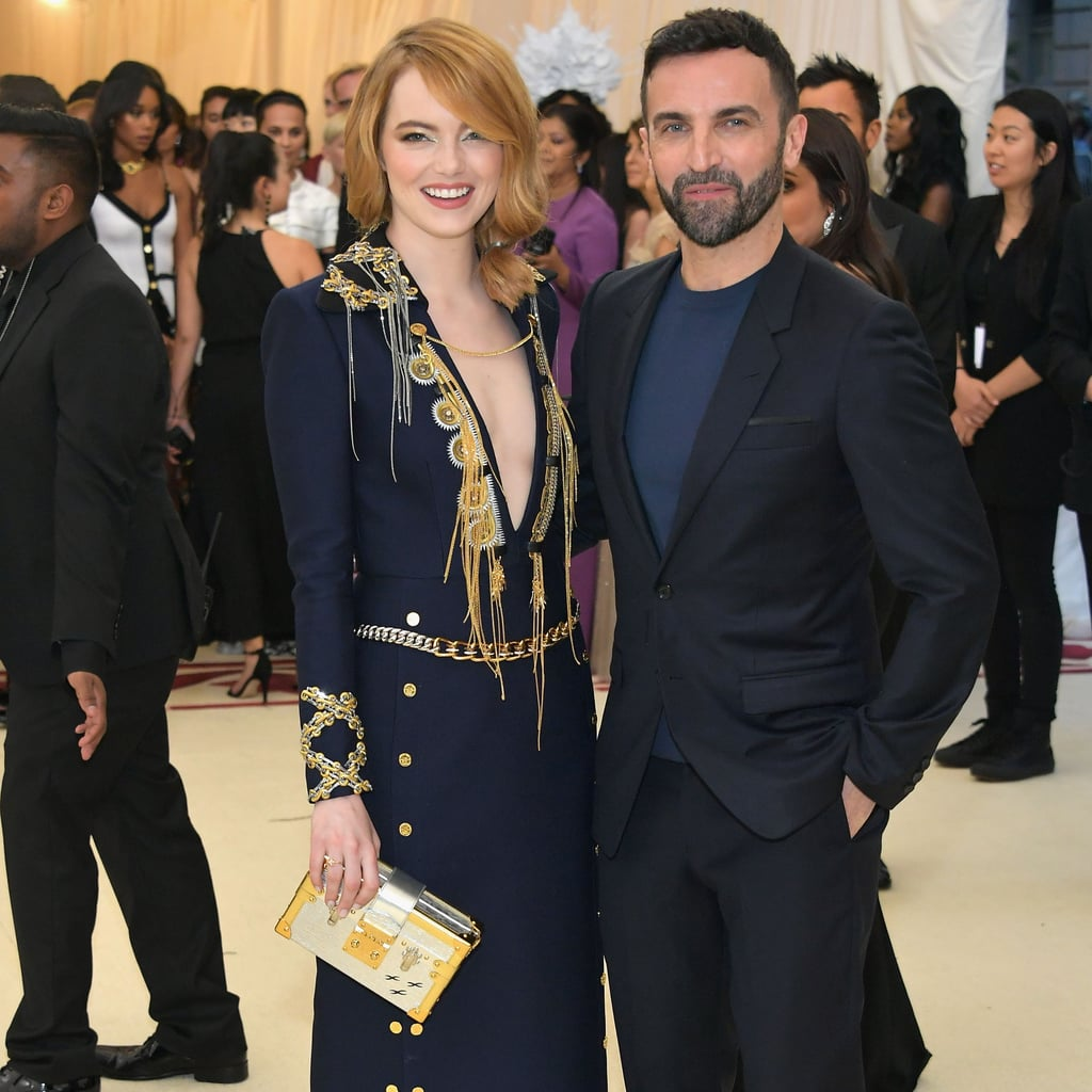 Emma Stone And Andrew Garfield At The 2018 Met Gala Popsugar Celebrity