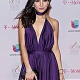 When Alejandra Espinoza Took Our Breath Away in Purple