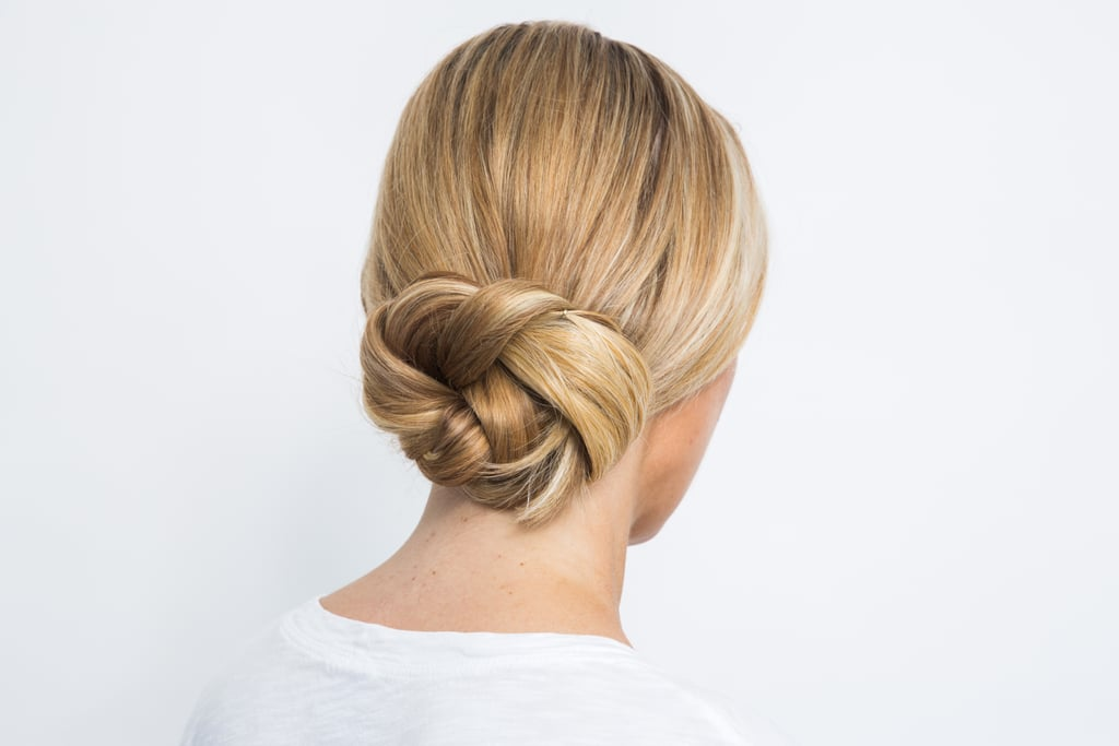 Final Result: The 2-Step Updo