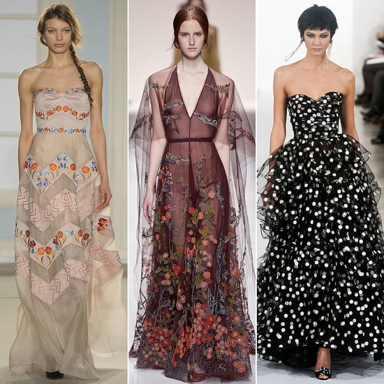 The Prettiest Dresses and Gowns From Fashion Week Fall 2014