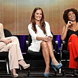 Rachael, Minka and Annie talked up Charlie's Angels at the 2011 Summer TCA Tour.