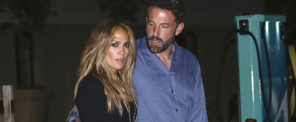 Jennifer Lopez's Sexy Black Dress on a Date With Ben Affleck
