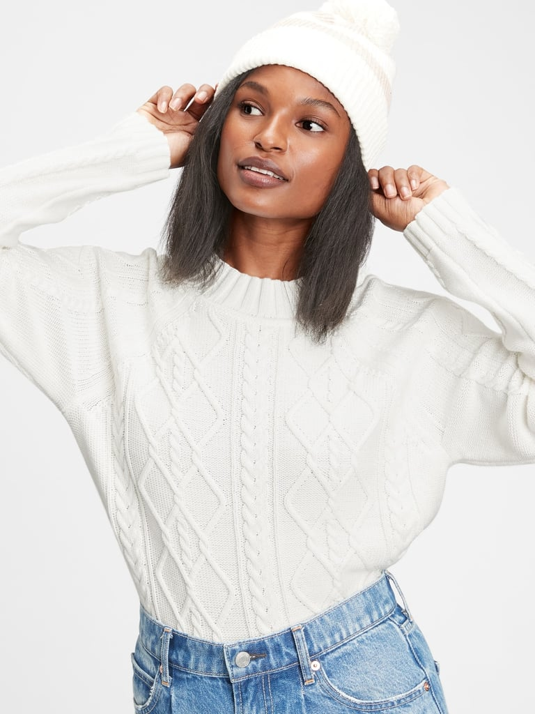 Gap Marled Crewneck Sweater