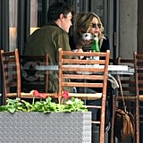 Mary-Kate and Her Boyfriend in NYC