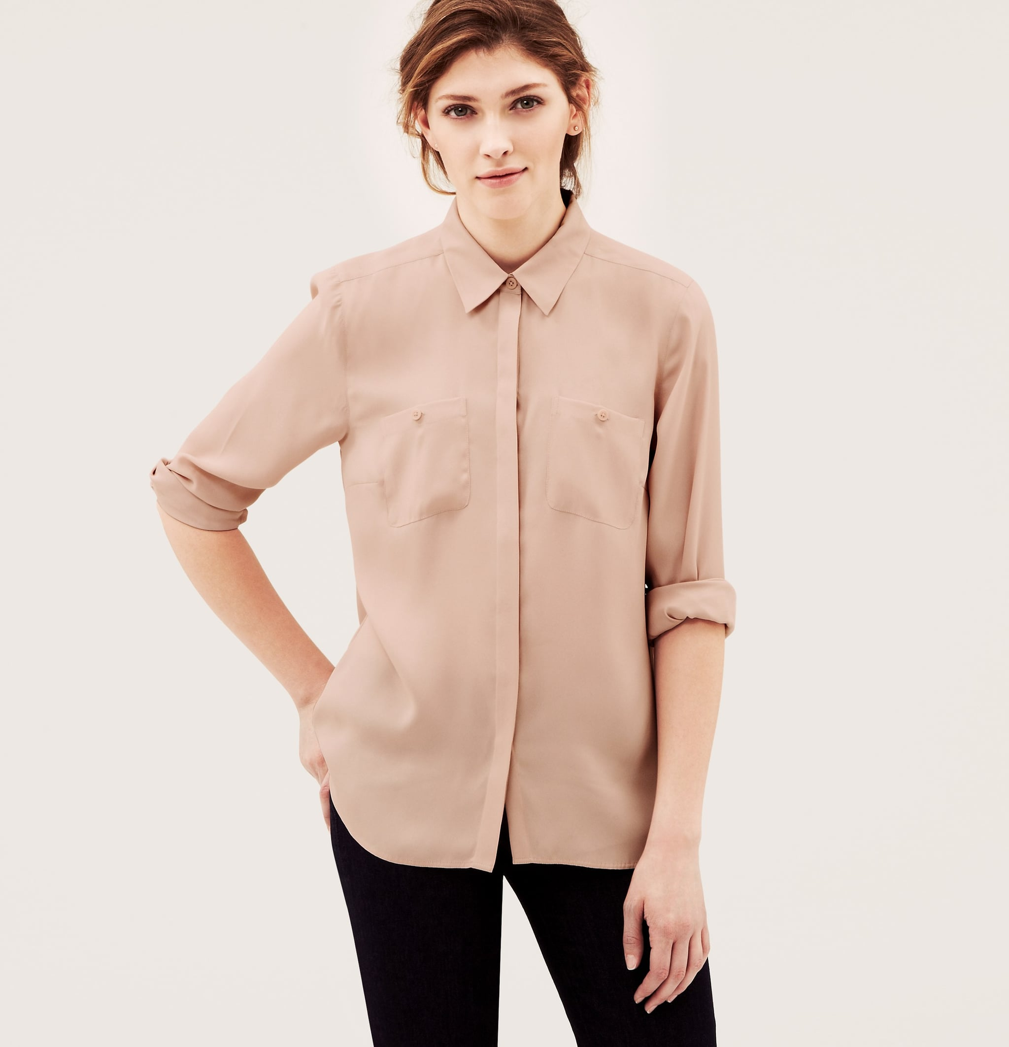 The Silky Blouse