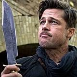 Brad Pitt as Lt. Aldo Raine