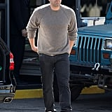 Ben Affleck kept it casual in LA on Monday.