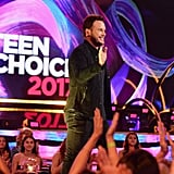 Chris Pratt at the 2017 Teen Choice Awards