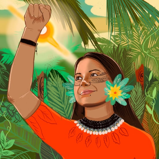 This Artist Creates Portraits of Women Climate Activists