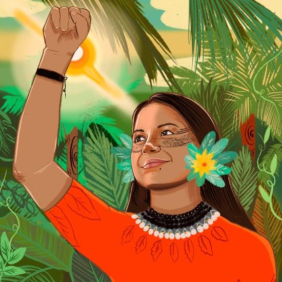 This Artist Creates Portraits of Women Climate Activists