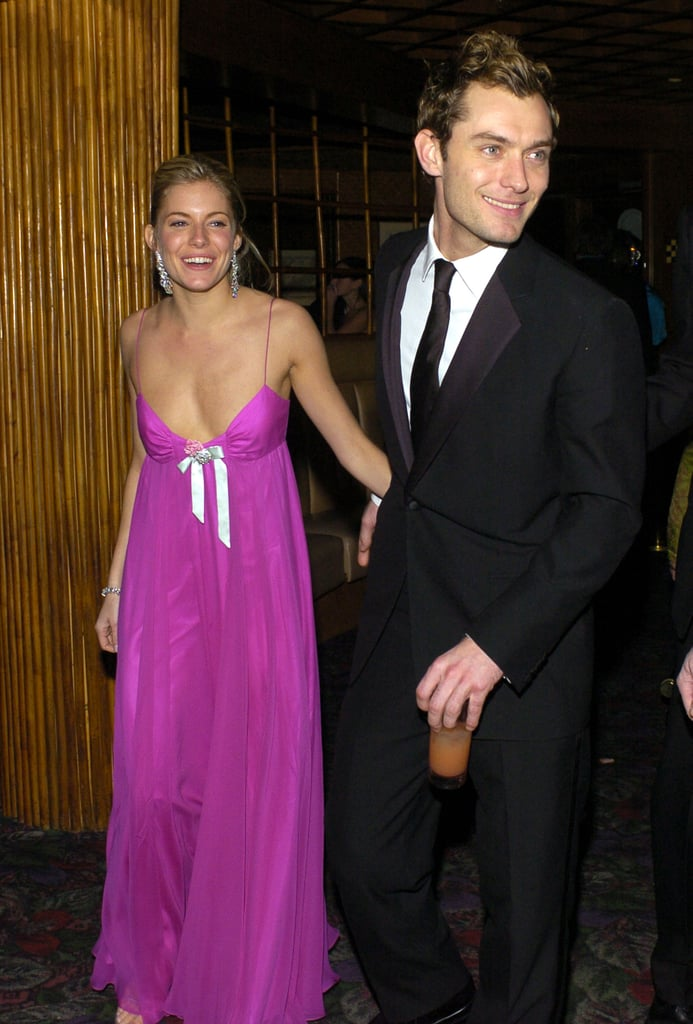 Sienna Miller and Jude Law in 2004