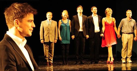 Review Of Rain Man at The Apollo Theatre In London Starring Josh Hartnett and Adam Godley