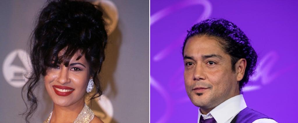 Chris Pérez Reacts to Selena's Lifetime Achievement Grammy