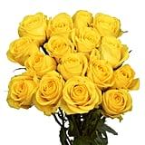 Globalrose Fresh Yellow Roses