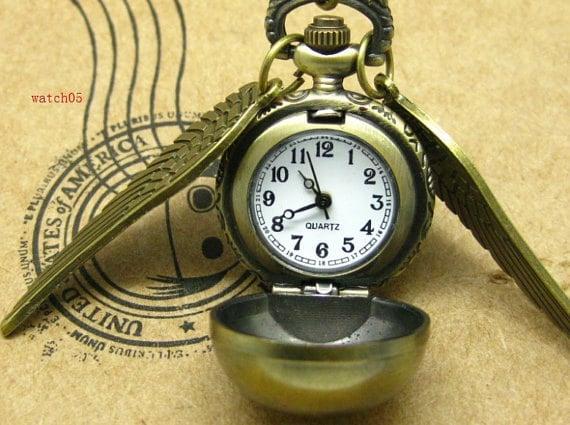 Golden Snitch Pocket Watch ($4)