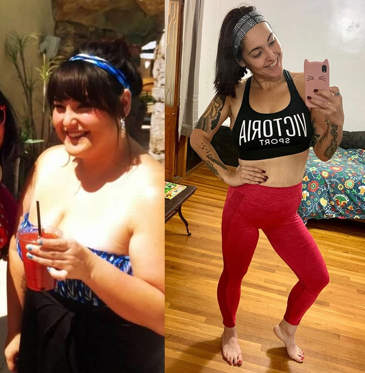 123-Pound Weight Loss Transformation