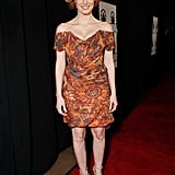 A flirty Vivienne Westwood look at the seventh annual Los Angeles Film Critics Association Awards in January 2012.