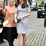 Kate wearing Matthew Williamson in November 2015.