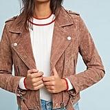 Blank NYC Valentine Suede Moto Jacket