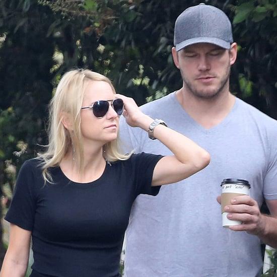 Chris Pratt and Anna Faris Out in Santa Monica August 2018