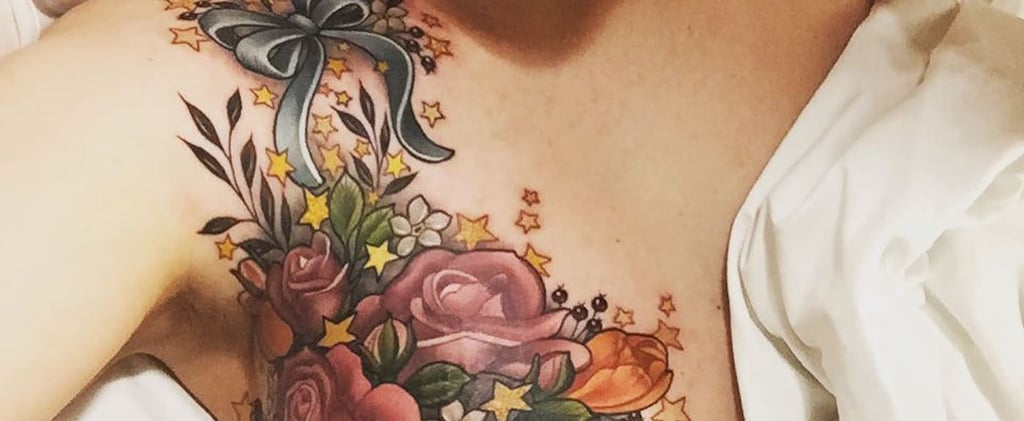 Flower Mastectomy Tattoos