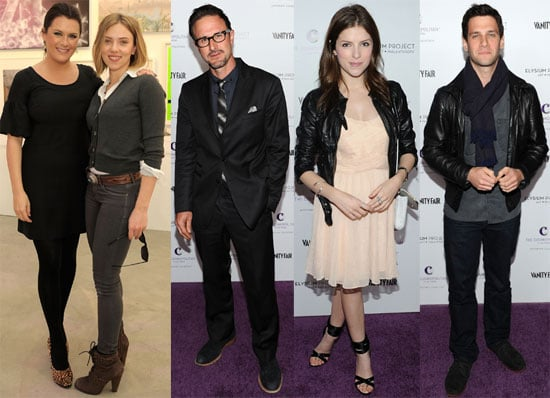 Pictures of Scarlett Johansson, David Arquette, Anna Kendrick, and More at Vanity Fair Art of Elysium Auction