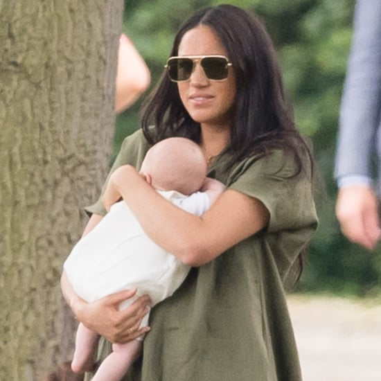 Meghan Markle Green Dress at Polo Day 2019