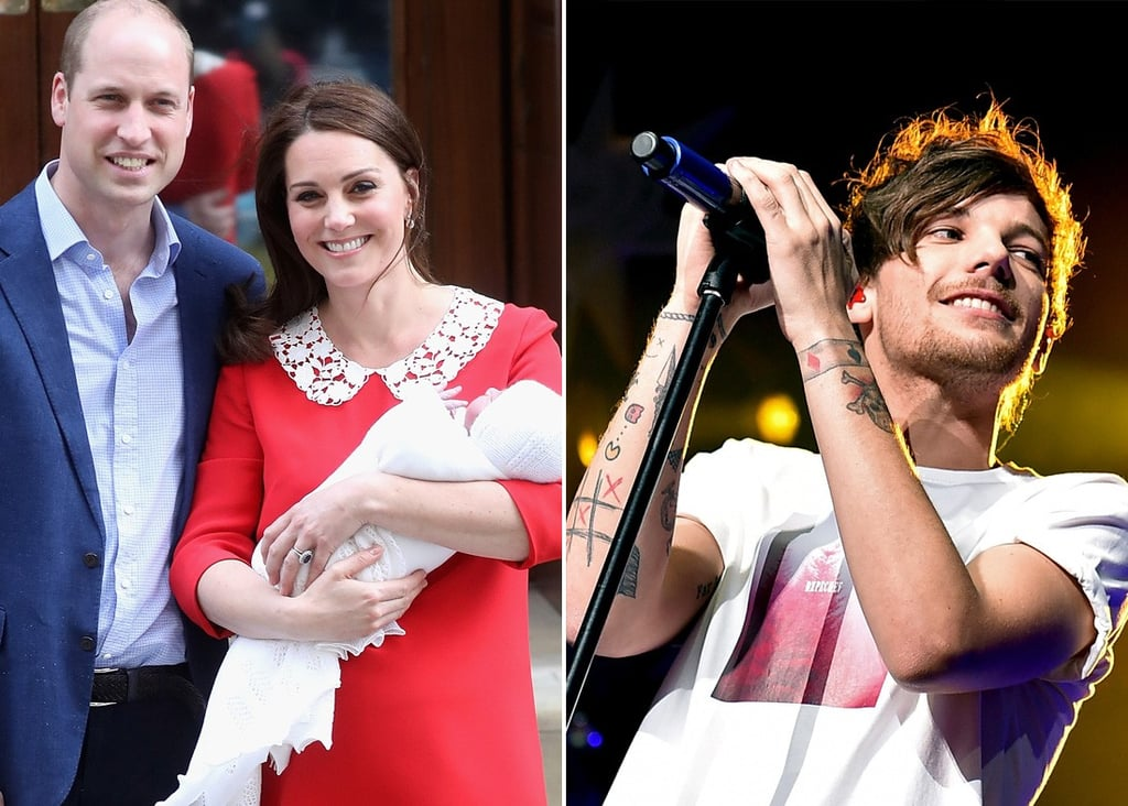 Twitter Reactions About Prince Louis and Louis Tomlinson
