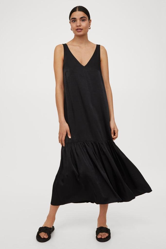 For Effortless Elegance: H&M V-Neck Dress