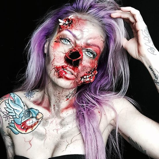 Terrifying Halloween Makeup | Sarah Mudle