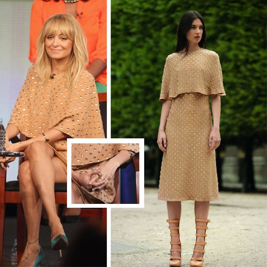 Why It Works: Pictures of Nicole Richie in Shortened Chloe Resort 2012 Dress at the Winter TCA Tour