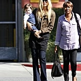 """Stylish """"Ma Ma"""" Rachel Zoe Lunches With Skyler and Her Best Bud"""