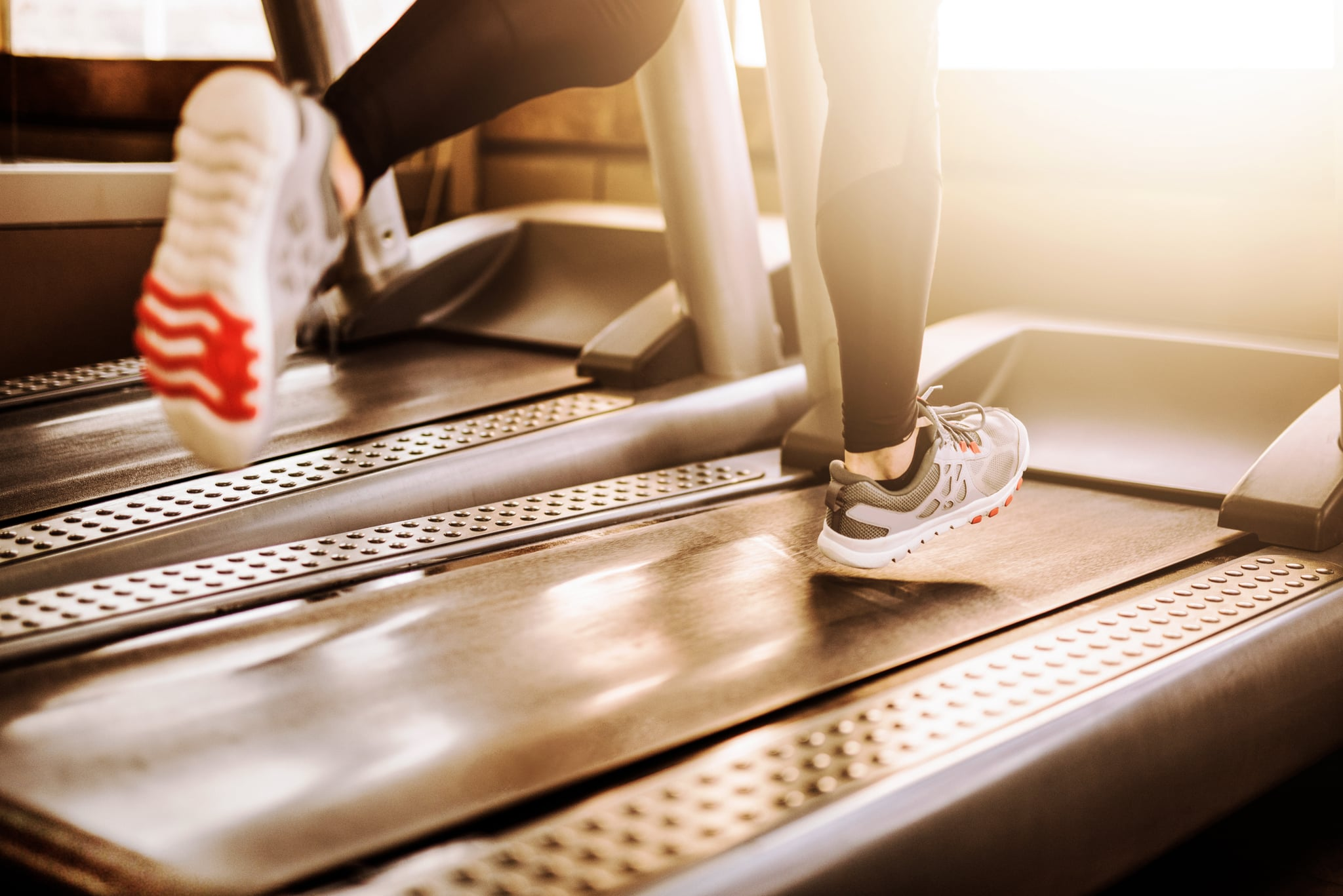 Beginner treadmill incline runs workout
