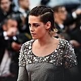 Kristen Stewart Takes Off Her Heels at Cannes Film Festival