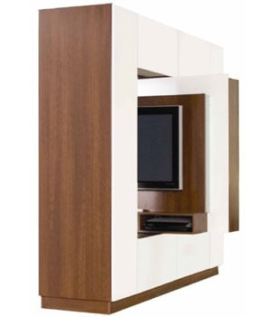 Room Divider TV Stand