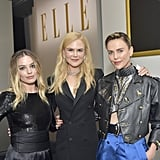 Margot Robbie, Nicole Kidman, and Charlize Theron at Elle's 26th Annual Women in Hollywood Celebration