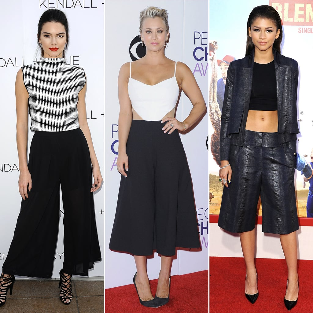Photos of Celebrities Wearing Culottes