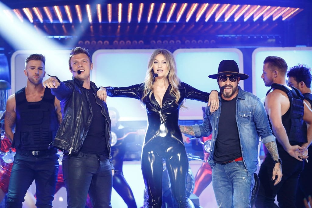 "Gigi Hadid's Sexy Lip Sync Battle Outfits Will Have You Saying ""Backstreet Boys Who?"""