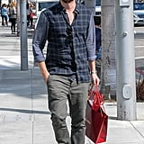 When He Casually Strolled Around LA