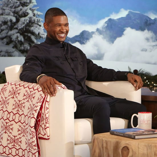 Usher Talks About His Wedding on Ellen