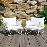 Novogratz 2 Piece Poolside Teddi Outdoor Lounge Chairs
