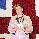Clare Balding spoke to kick off Ladies Day at the Investec Derby Festival celebrating the queen's Diamond Jubilee weekend.