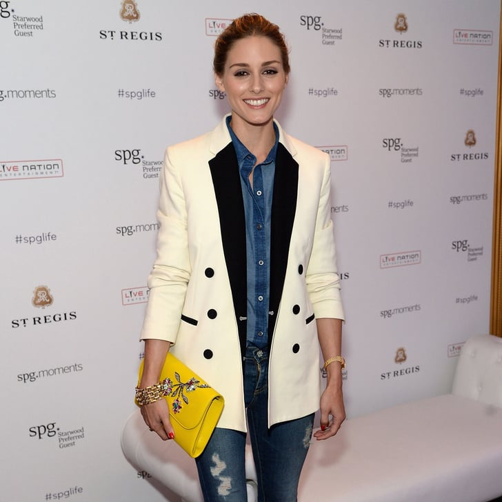 Olivia Palermo Denim-on-Denim Outfit