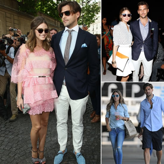 A Look at Olivia Palermo & Johannes Huebl's Couple Style