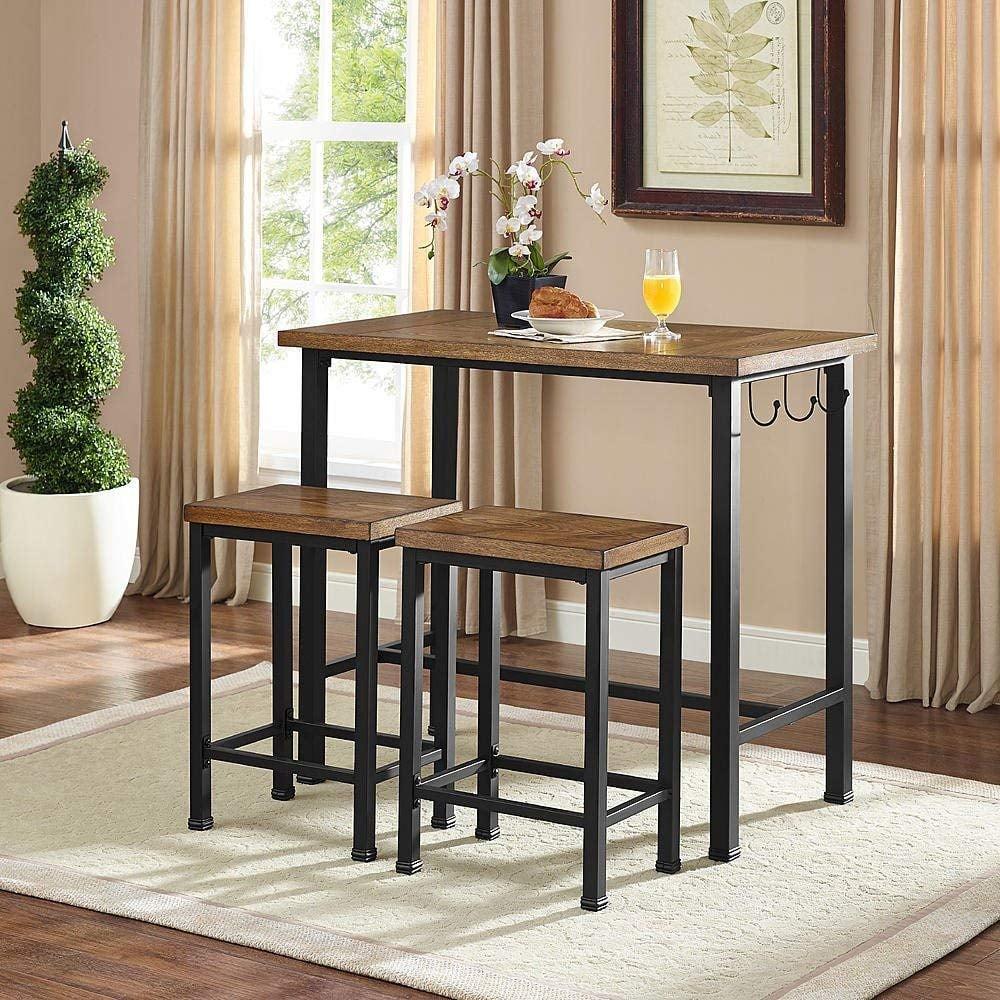 Linon Pub Table Bar Set