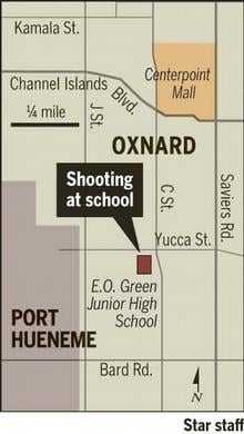 Headline: School Shooting in California Middle School