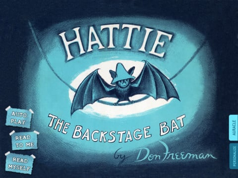 Hattie, the Backstage Bat