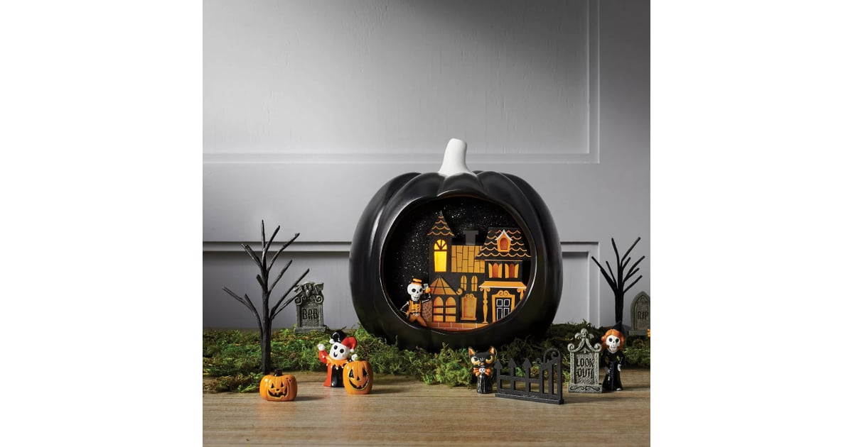 Target Black Pumpkin Fairy Garden Bundle And Accessory Set Prepare For A Scare Target S 2020 Halloween Decorations Have Arrived For The Season Popsugar Home Photo 7