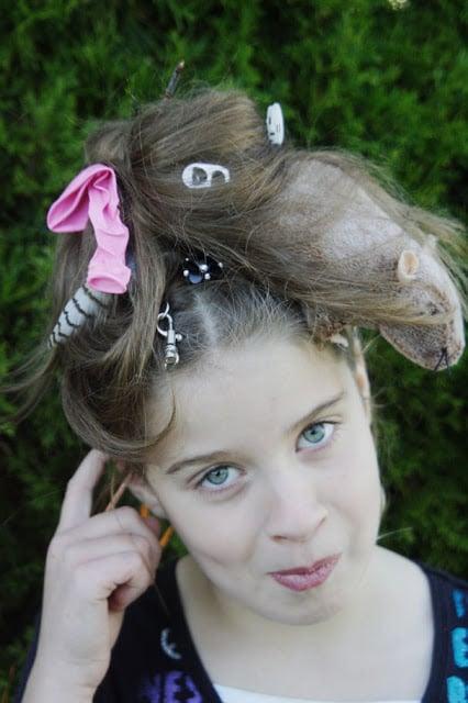 a rats nest crazy hair day ideas popsugar moms photo 22